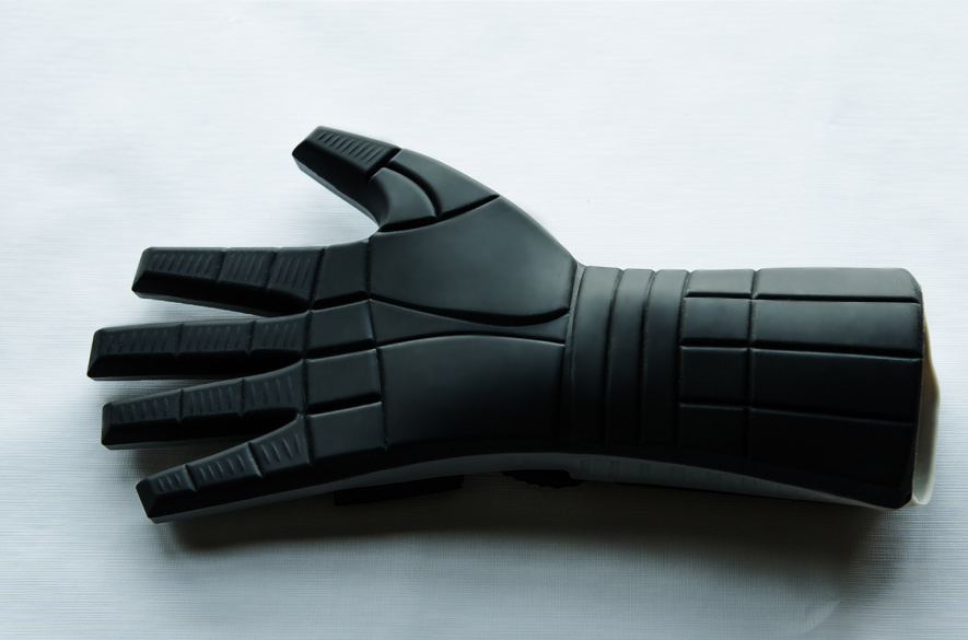 Power Glove Mitt Back