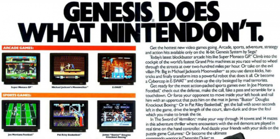 Remember this? Genesis Does What Nintendon't.