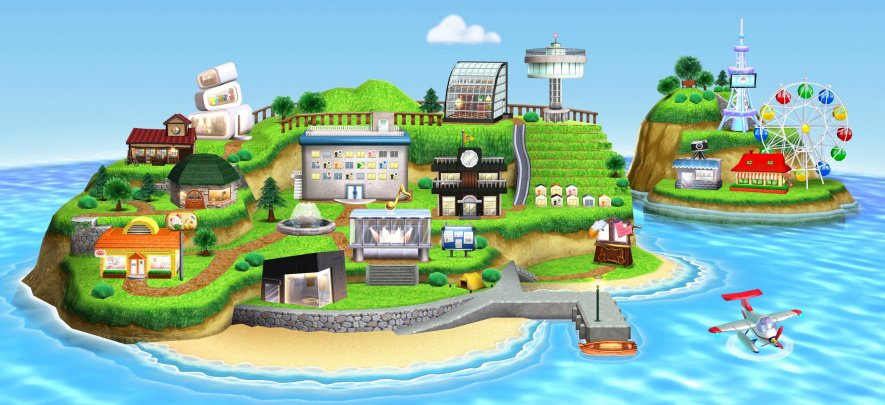 N3 DS Tomodachi Life Illustration