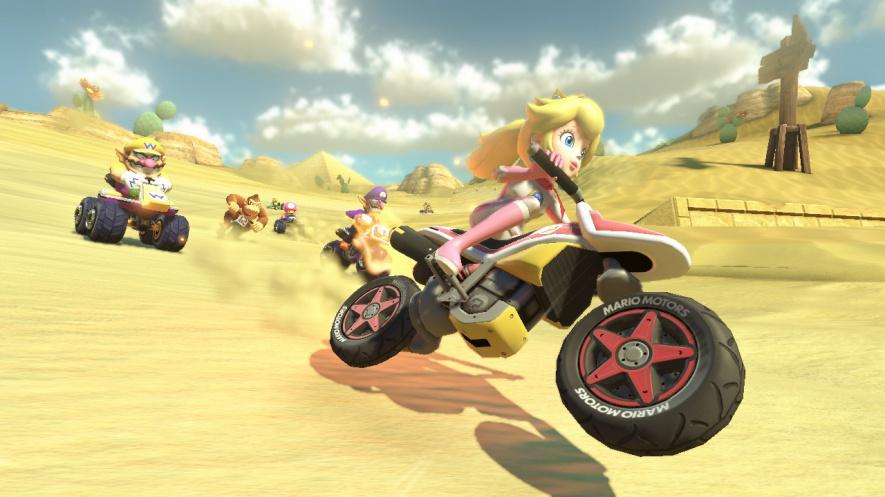 Mario Kart 8 - Peach