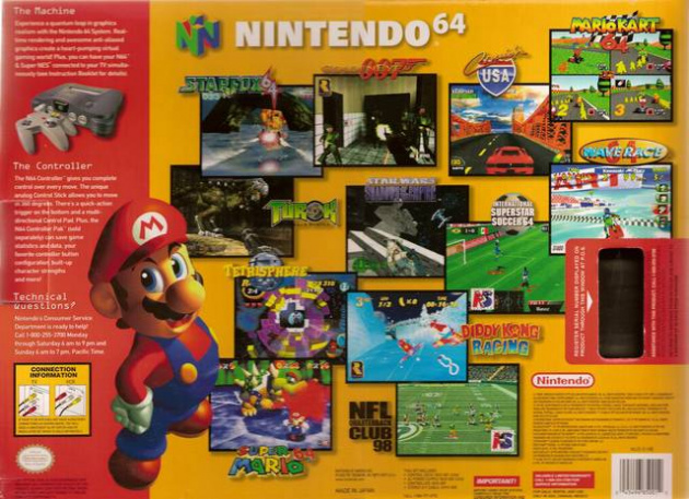 N64 Box (GE & MK featured) Higher res version of this image would be appreciated, match accordingly with feature