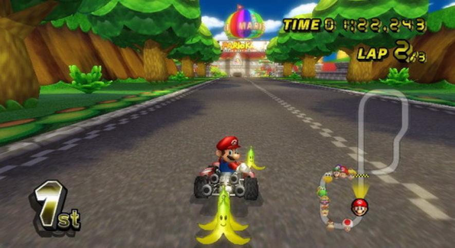 Mario Kart Banana