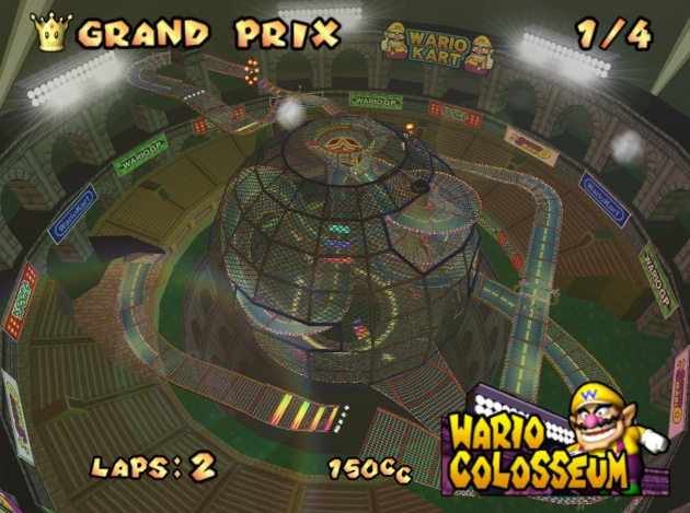 Who wouldn't like to see Wario Colosseum from Double Dash!! make a return?