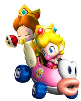 Baby Peach & Daisy