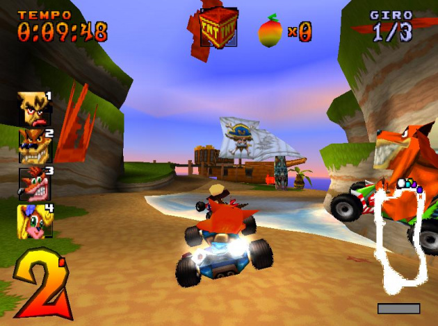 Crash Team Racing was the PlayStation's answer to Mario Kart, and won plenty of fans
