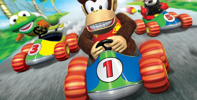 Diddy Kong Racing was a Mario Kart killer which came from what was then one of Nintendo's second-party teams: Rare
