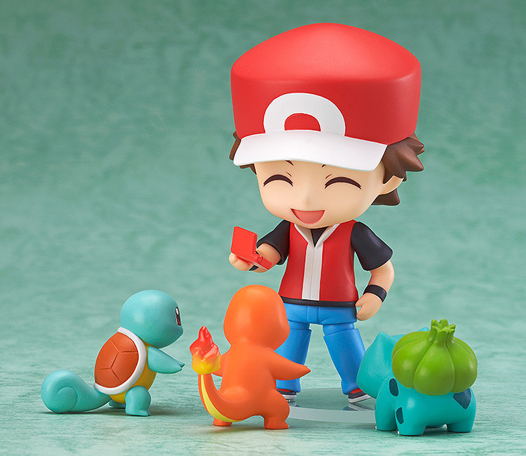 This Pokémon Trainer Red Nendoroid is Ludicrously Cute ...