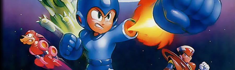 Mega Man v Banner