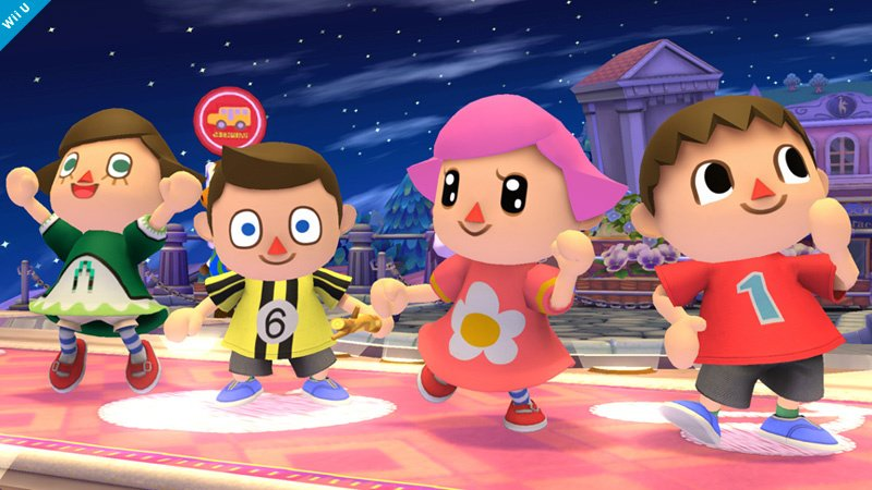 You Ll Be Able To Play As The Girl Villager In Super Smash