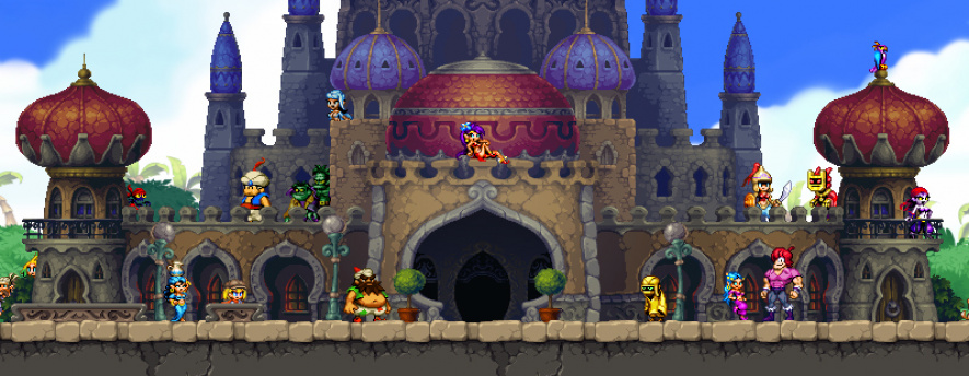 Shantae and the Pirates Curse Palace