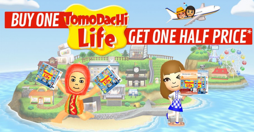 GAME Tomodachi Deal