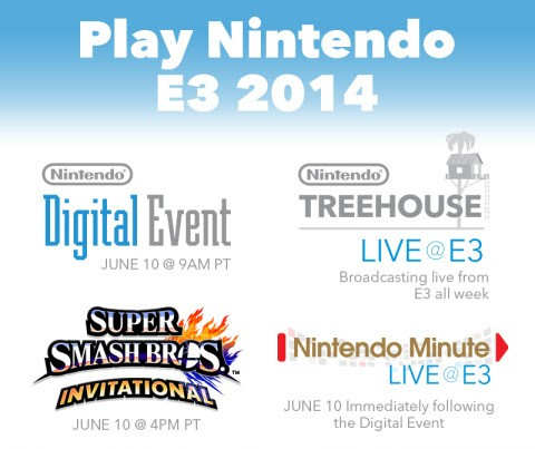 Nintendo E3 Lineup