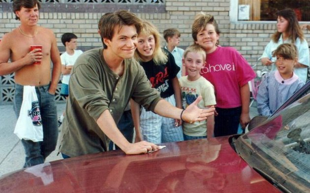 Back in 1989, Christian Slater was only just beginning his career in Hollywood