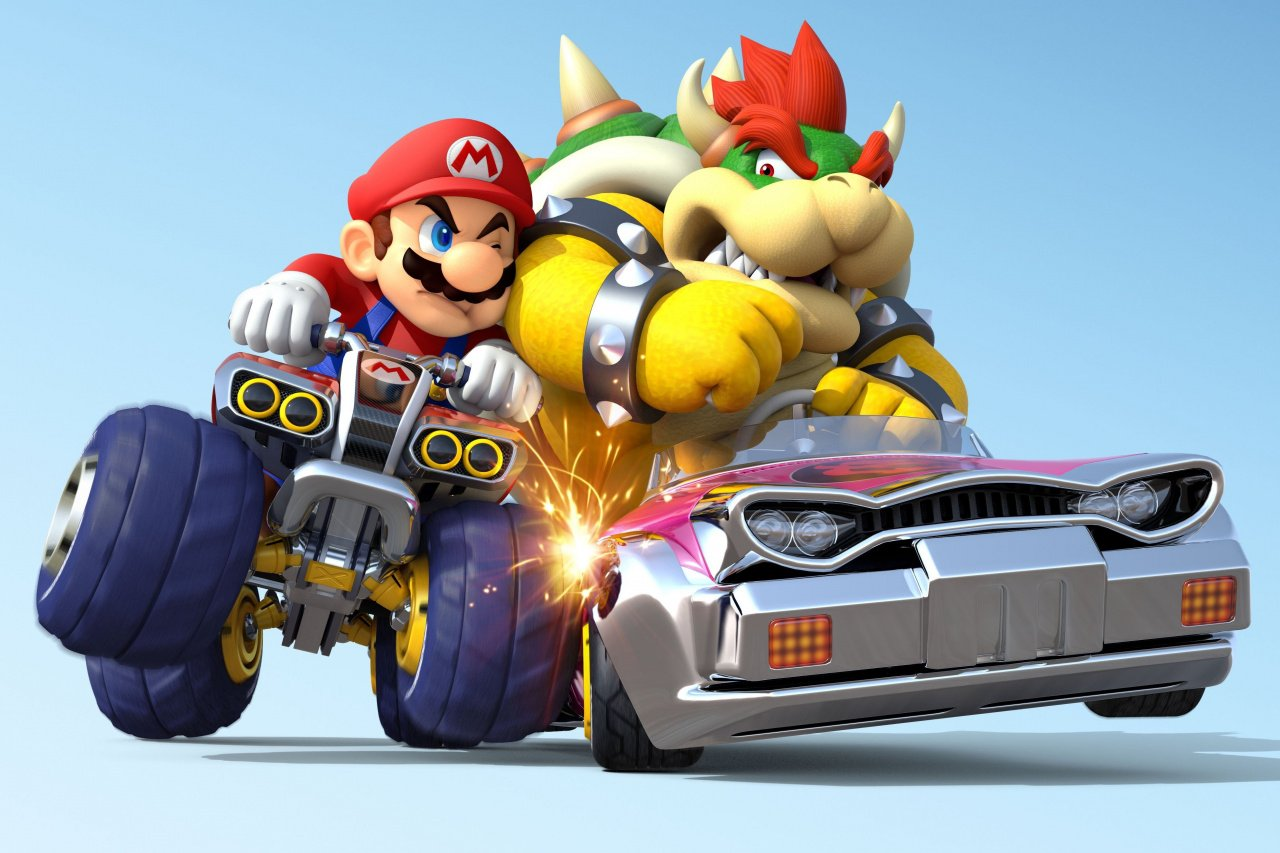 mario kart 8 drives wii u sales in the uk claims second place behind watch dogs nintendo life. Black Bedroom Furniture Sets. Home Design Ideas