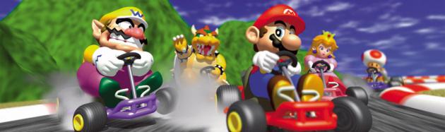 Mariokart64 Banner
