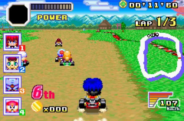 Konami Racers Edit