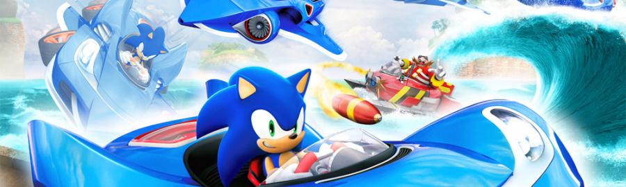 Sonic Racing Banner