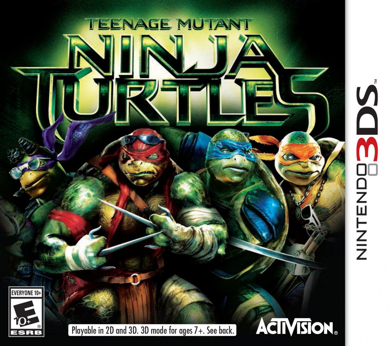 Movie based teenage mutant ninja turtles game coming to 3ds nintendo