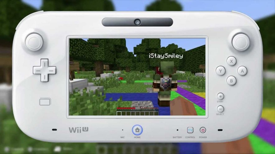 Minecraft Wii U Mockup