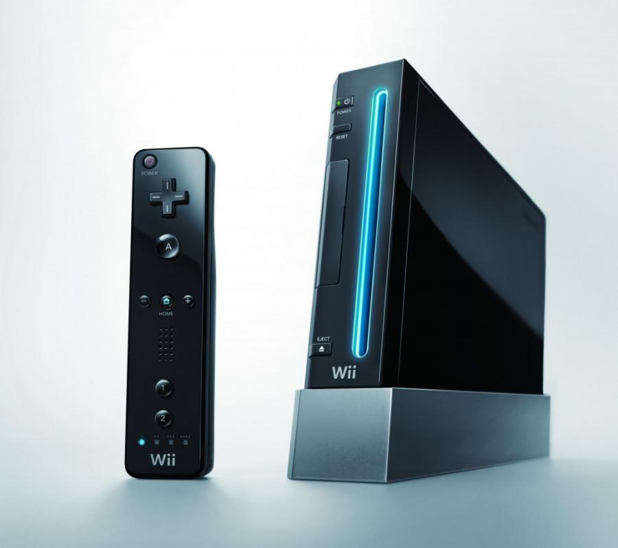 Wii Black Console