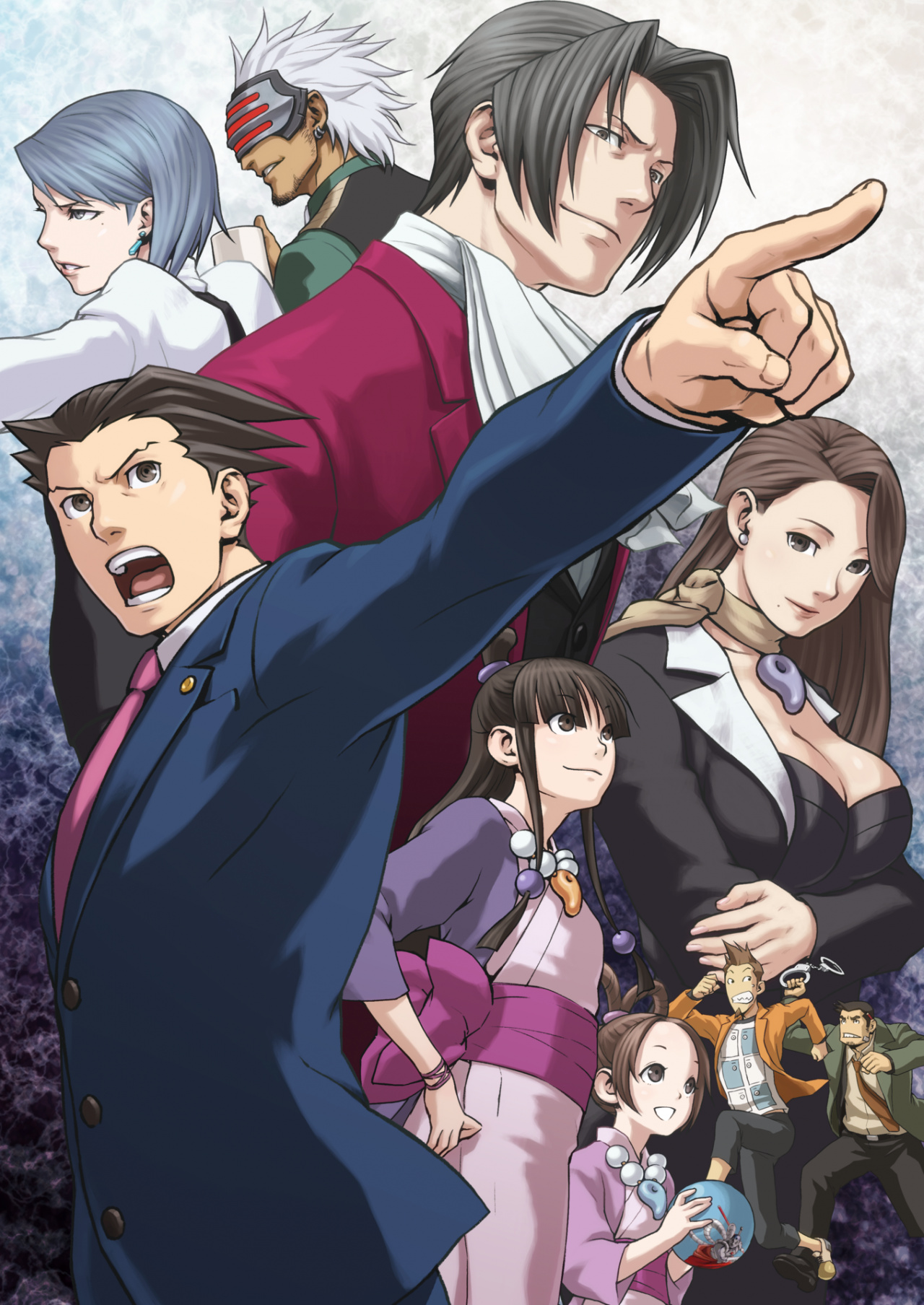 3DS - Phoenix Wright: Ace Attorney Trilogy - The Spriters