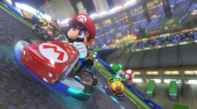 Mario Kart 8 Track Slide