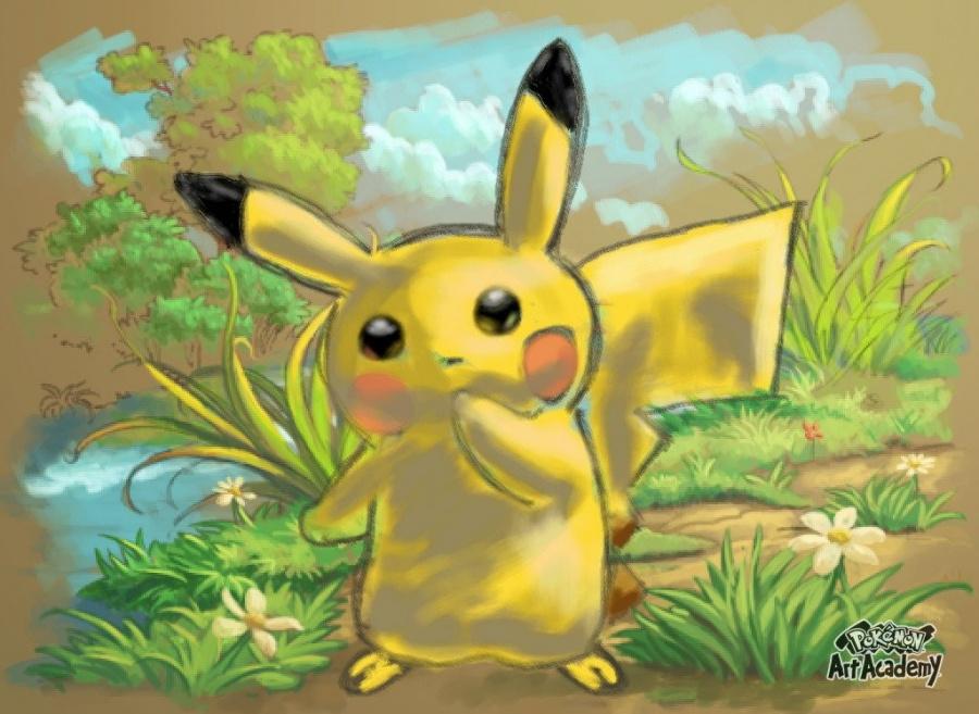 Pikachu Art Academy
