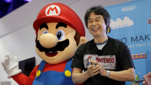 Miyamoto and Mario