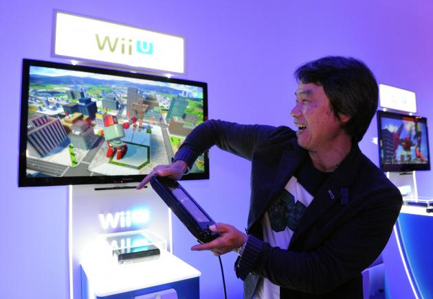 Shigeru Miyamoto E3 2014 Project Giant Robot