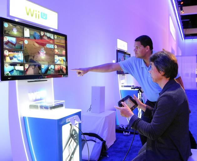 Shigeru Miyamoto E3 2014 Project Guard