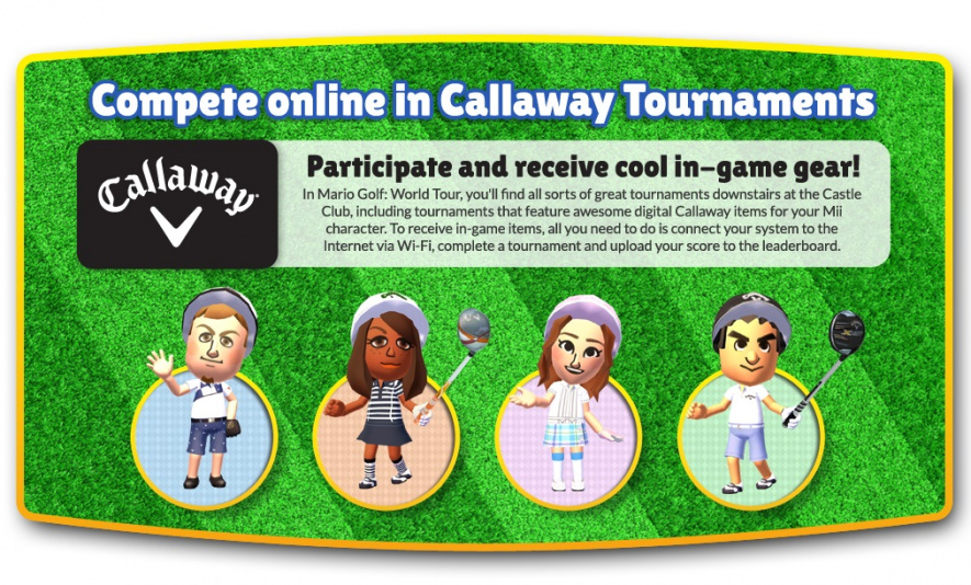 Callaway Mario Golf