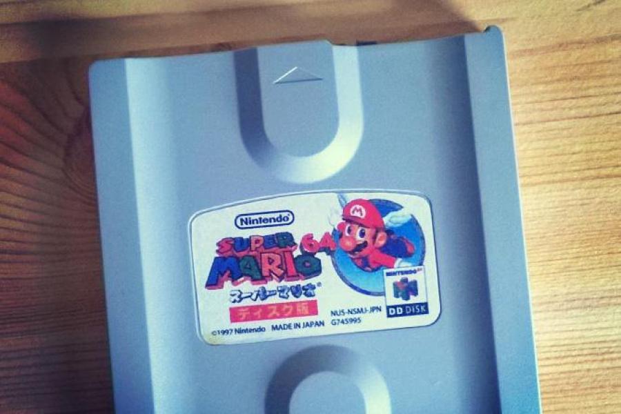 Super Mario 64 Dd Discovered