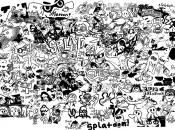 This Splatoon Collage Shows Off the Artists on Miiverse