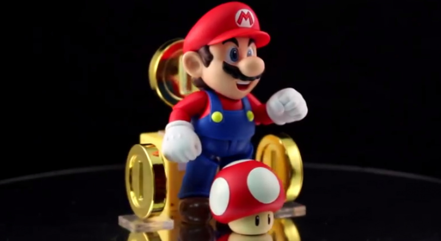 Tamashii Nations' Mario Figure