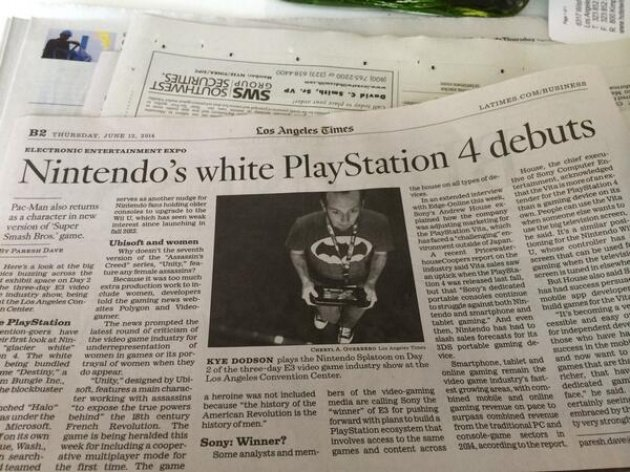 Nintendo White PS4