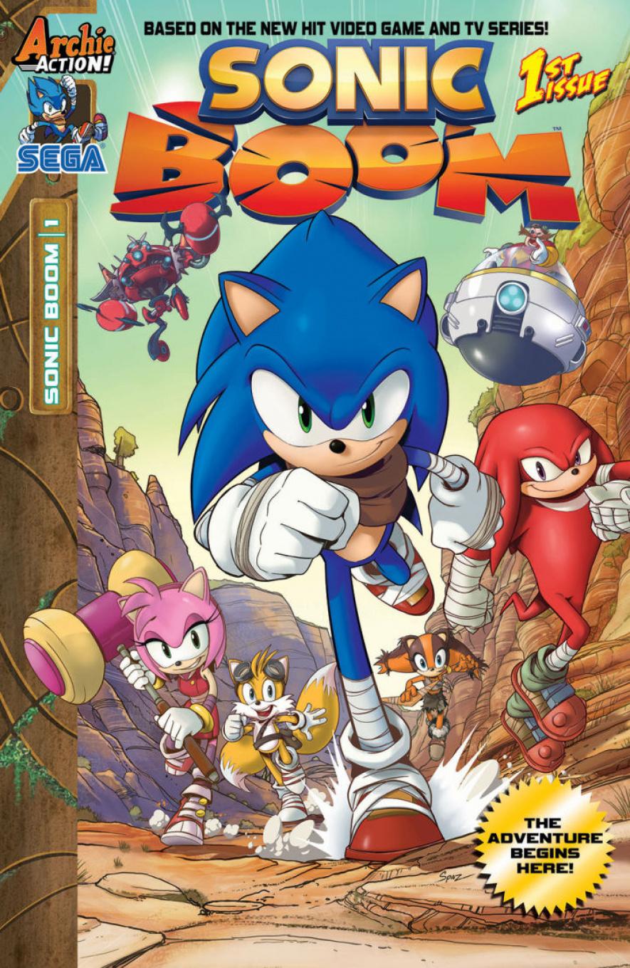 Sonic Boom Comic 1