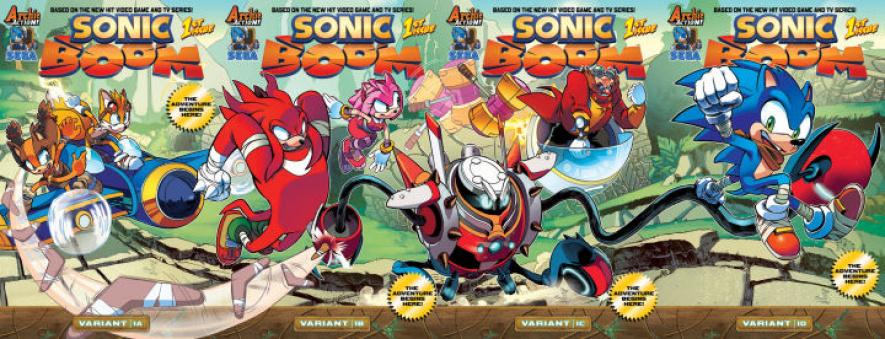 Sonic Boom Comic 2