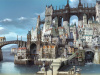 Bravely Second Shows Off New City and Job Outfits