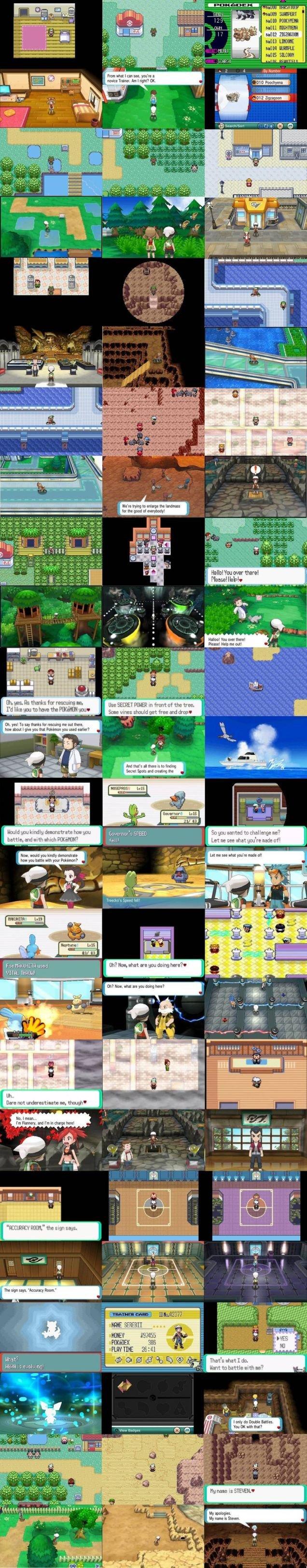 Pokemon Emerald Pokedex Original