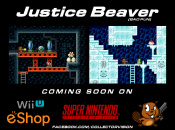 Collectorvision Announces Justice Beaver for Wii U eShop and Super Nintendo