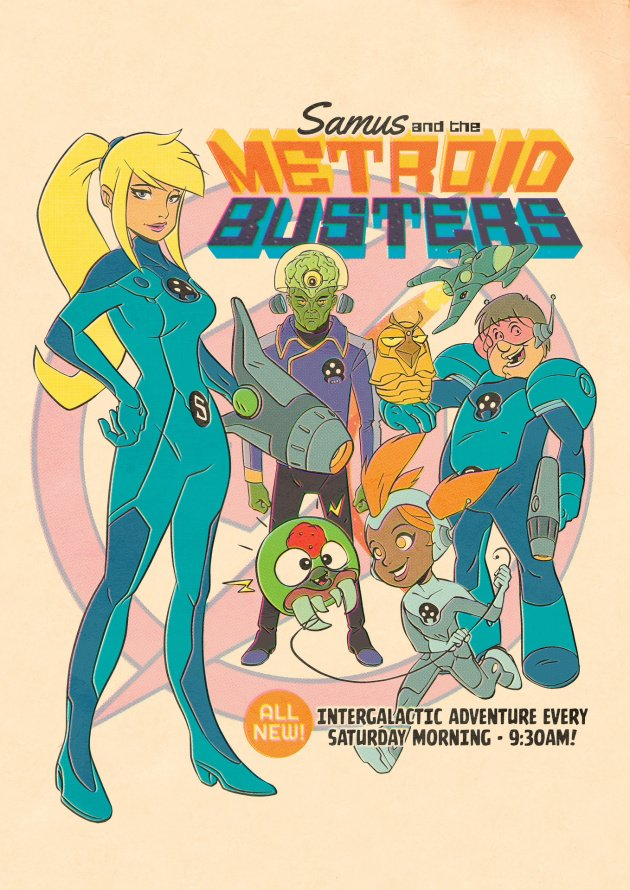 Metroid Busters Poster