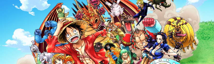 One Piece Red Banner