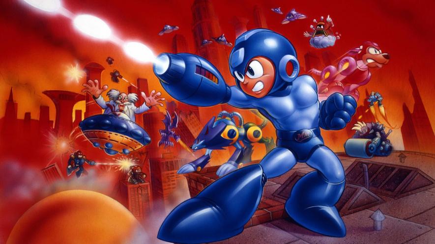 Mega Man 7 SNES Original Artwork