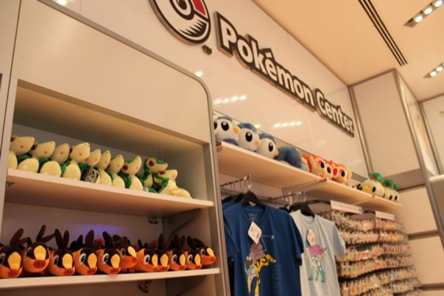 Pokemon Center at the Nintendo World Store in New York City
