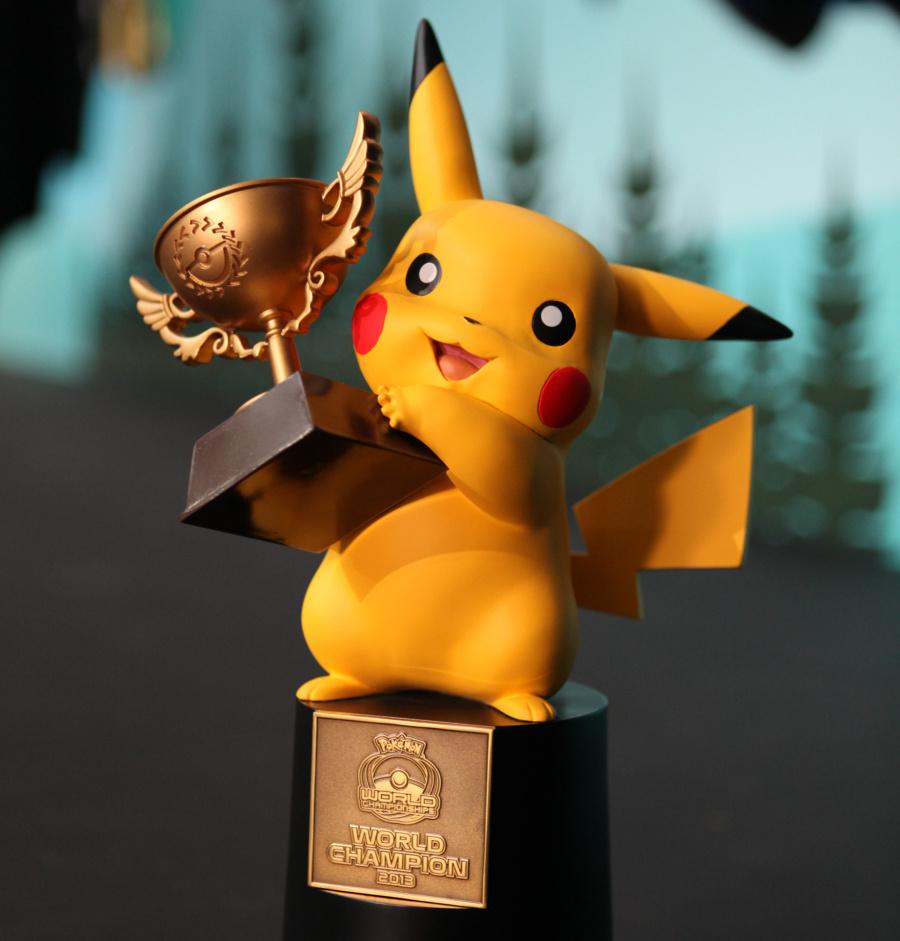 Pokemon World Champion Trophy EDIT
