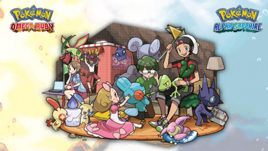 Super Secret Bases Pokemon