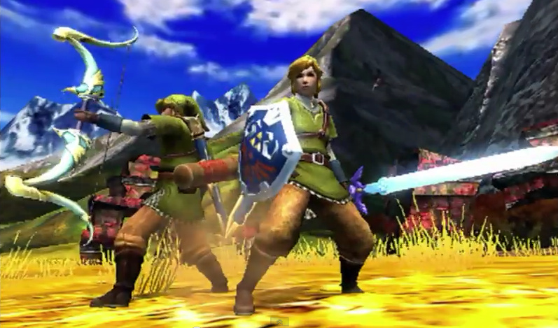 The Link Outfit and Gear in Monster Hunter 4 Ultimate is Almost Too Cool