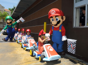 These Lucky Kids Got McDonald's Happy Meal Mario Kart Toys Direct From The Brothers Themselves