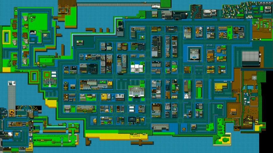 Retro City Map