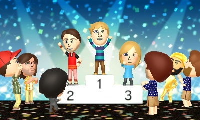 Tomodachi Podium